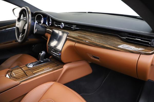 Used 2017 Maserati Quattroporte S Q4 GranLusso for sale $59,900 at Bentley Greenwich in Greenwich CT 06830 22