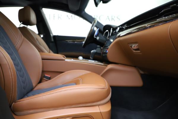 Used 2017 Maserati Quattroporte S Q4 GranLusso for sale $59,900 at Bentley Greenwich in Greenwich CT 06830 23