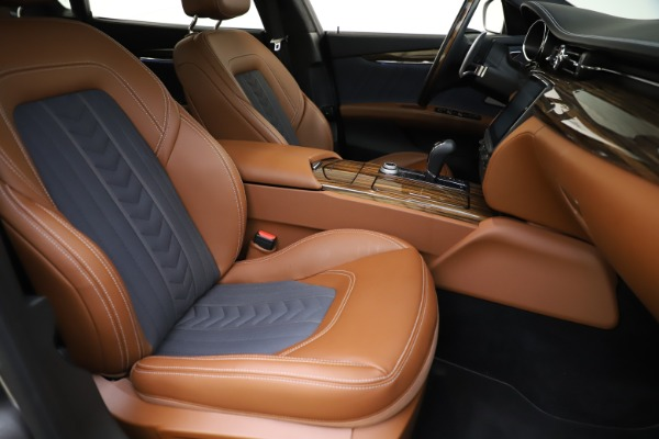 Used 2017 Maserati Quattroporte S Q4 GranLusso for sale $59,900 at Bentley Greenwich in Greenwich CT 06830 24