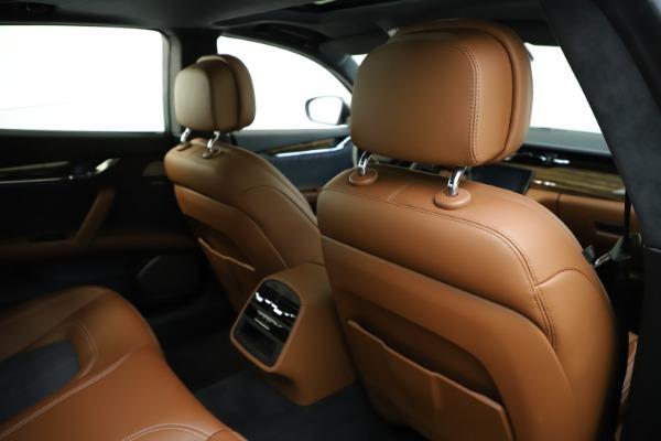 Used 2017 Maserati Quattroporte S Q4 GranLusso for sale $59,900 at Bentley Greenwich in Greenwich CT 06830 28