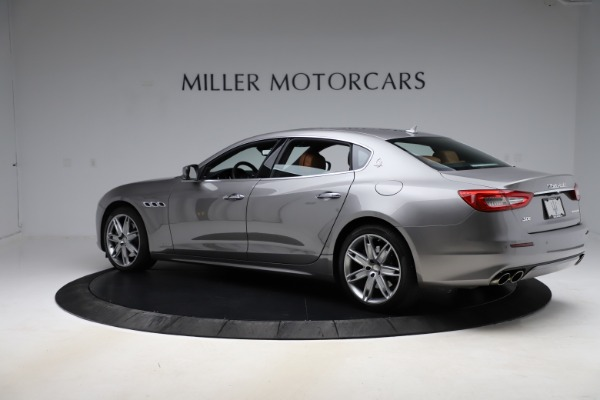 Used 2017 Maserati Quattroporte S Q4 GranLusso for sale Sold at Bentley Greenwich in Greenwich CT 06830 4