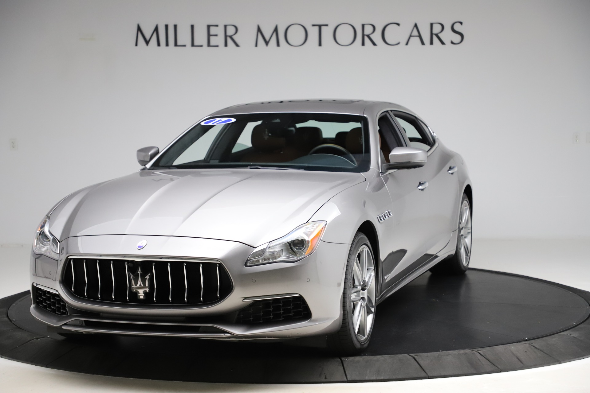 Used 2017 Maserati Quattroporte S Q4 GranLusso for sale Sold at Bentley Greenwich in Greenwich CT 06830 1
