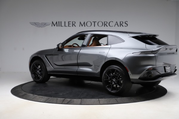 New 2021 Aston Martin DBX SUV for sale $229,486 at Bentley Greenwich in Greenwich CT 06830 3