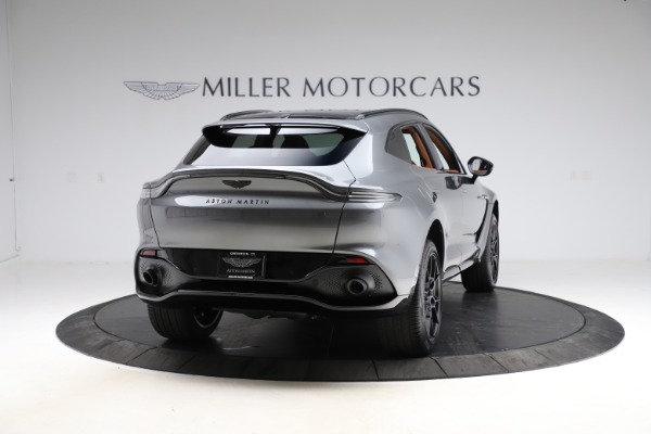 New 2021 Aston Martin DBX SUV for sale $229,486 at Bentley Greenwich in Greenwich CT 06830 6