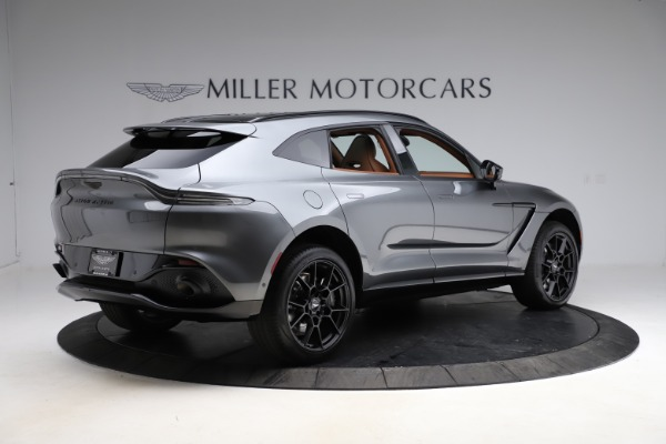 New 2021 Aston Martin DBX SUV for sale $229,486 at Bentley Greenwich in Greenwich CT 06830 7