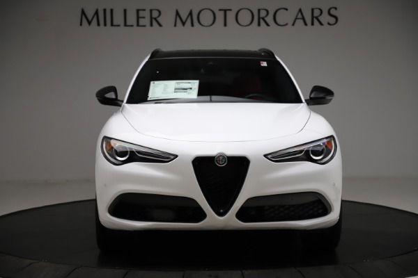 New 2020 Alfa Romeo Stelvio Ti Sport Q4 for sale $53,445 at Bentley Greenwich in Greenwich CT 06830 12