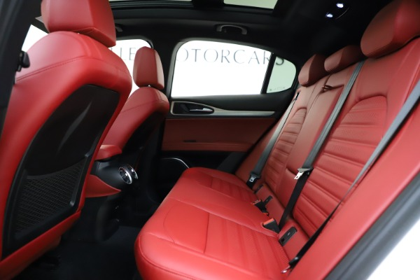 New 2020 Alfa Romeo Stelvio Ti Sport Q4 for sale $53,445 at Bentley Greenwich in Greenwich CT 06830 19