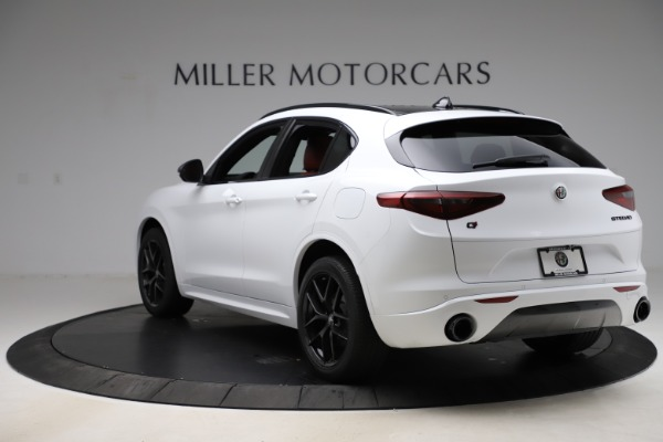 New 2020 Alfa Romeo Stelvio Ti Sport Q4 for sale $53,445 at Bentley Greenwich in Greenwich CT 06830 5