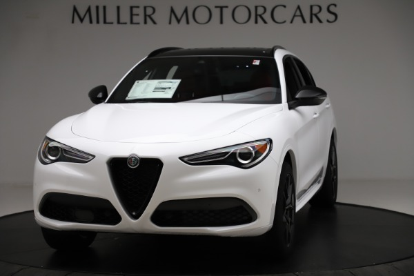 New 2020 Alfa Romeo Stelvio Ti Sport Q4 for sale $53,445 at Bentley Greenwich in Greenwich CT 06830 1