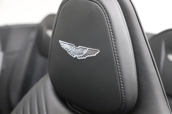 New 2021 Aston Martin DB11 Volante Convertible for sale $254,416 at Bentley Greenwich in Greenwich CT 06830 23