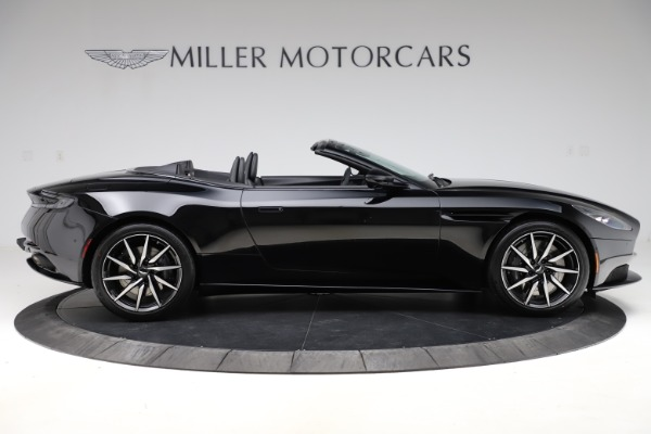 New 2021 Aston Martin DB11 Volante Convertible for sale $254,416 at Bentley Greenwich in Greenwich CT 06830 8