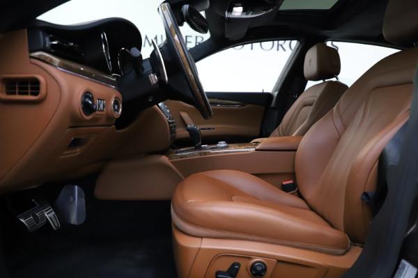 Used 2018 Maserati Quattroporte S Q4 GranLusso for sale $69,900 at Bentley Greenwich in Greenwich CT 06830 14