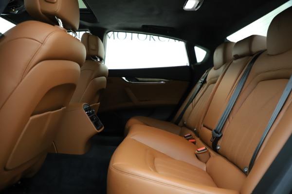 Used 2018 Maserati Quattroporte S Q4 GranLusso for sale $69,900 at Bentley Greenwich in Greenwich CT 06830 19