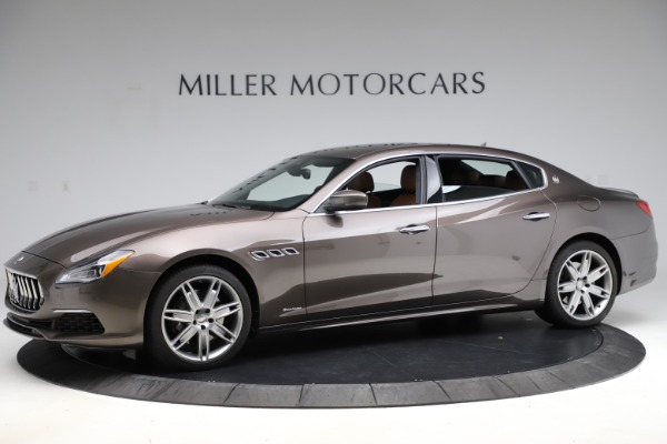 Used 2018 Maserati Quattroporte S Q4 GranLusso for sale $69,900 at Bentley Greenwich in Greenwich CT 06830 2
