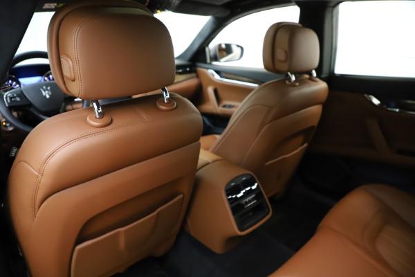 Used 2018 Maserati Quattroporte S Q4 GranLusso for sale $69,900 at Bentley Greenwich in Greenwich CT 06830 20