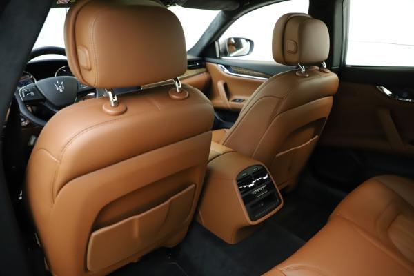 Used 2018 Maserati Quattroporte S Q4 GranLusso for sale $69,900 at Bentley Greenwich in Greenwich CT 06830 22