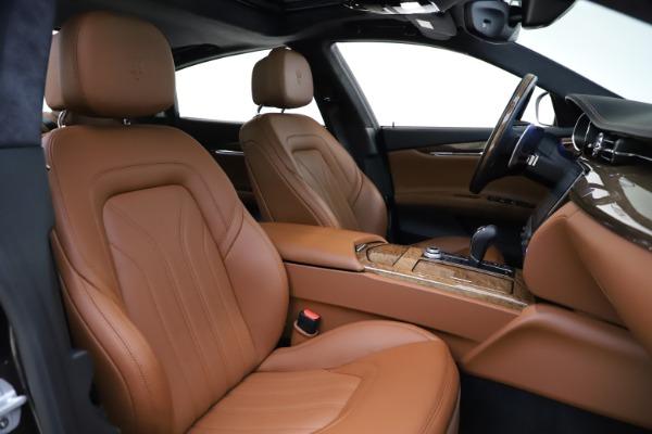 Used 2018 Maserati Quattroporte S Q4 GranLusso for sale $69,900 at Bentley Greenwich in Greenwich CT 06830 23