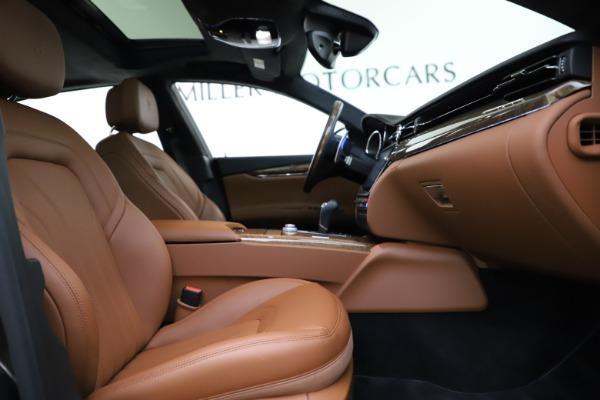 Used 2018 Maserati Quattroporte S Q4 GranLusso for sale $69,900 at Bentley Greenwich in Greenwich CT 06830 24
