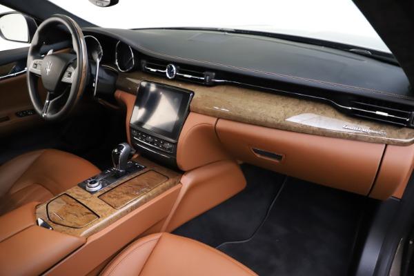 Used 2018 Maserati Quattroporte S Q4 GranLusso for sale $69,900 at Bentley Greenwich in Greenwich CT 06830 25