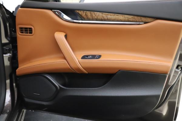 Used 2018 Maserati Quattroporte S Q4 GranLusso for sale $69,900 at Bentley Greenwich in Greenwich CT 06830 26