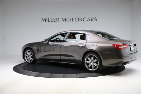 Used 2018 Maserati Quattroporte S Q4 GranLusso for sale $69,900 at Bentley Greenwich in Greenwich CT 06830 4