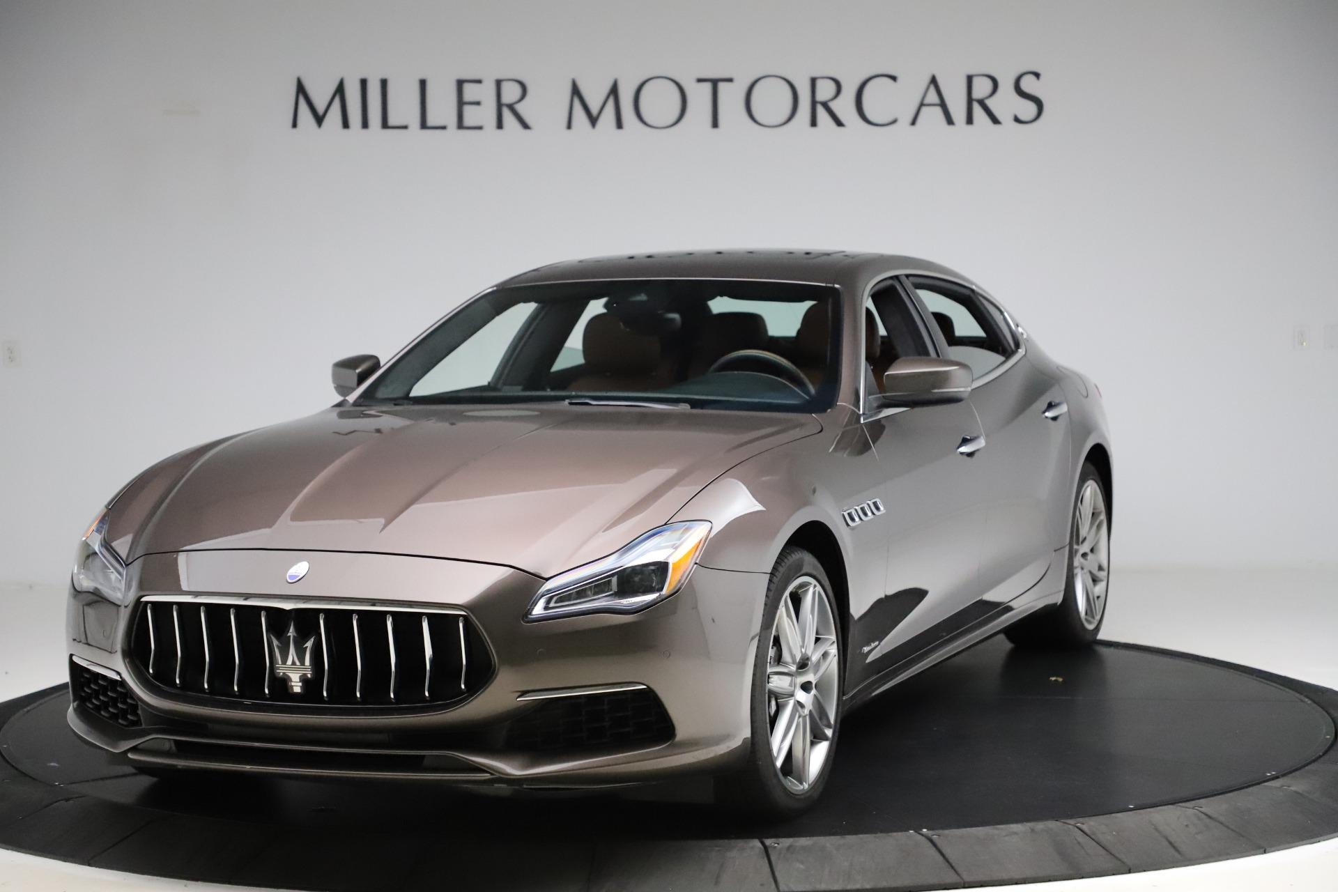 Used 2018 Maserati Quattroporte S Q4 GranLusso for sale $69,900 at Bentley Greenwich in Greenwich CT 06830 1