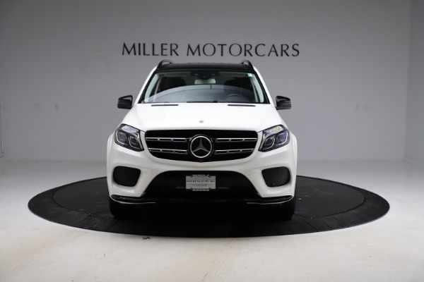 Used 2018 Mercedes-Benz GLS 550 for sale $67,900 at Bentley Greenwich in Greenwich CT 06830 12