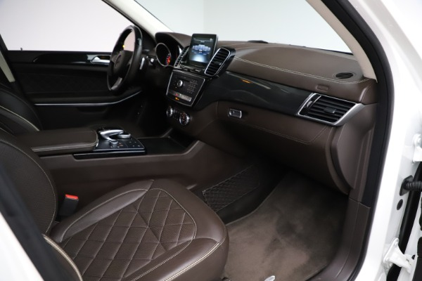 Used 2018 Mercedes-Benz GLS 550 for sale $67,900 at Bentley Greenwich in Greenwich CT 06830 24