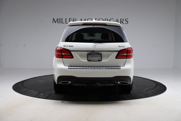 Used 2018 Mercedes-Benz GLS 550 for sale $67,900 at Bentley Greenwich in Greenwich CT 06830 6