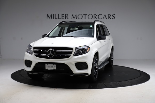 Used 2018 Mercedes-Benz GLS 550 for sale $67,900 at Bentley Greenwich in Greenwich CT 06830 1