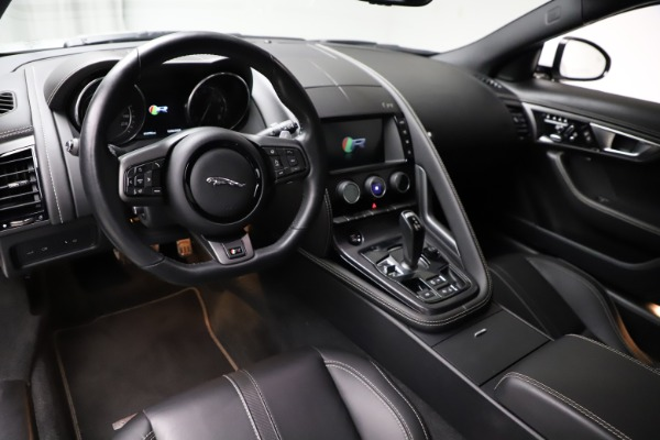 Used 2016 Jaguar F-TYPE R for sale $58,900 at Bentley Greenwich in Greenwich CT 06830 13