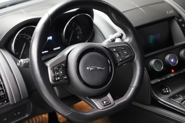 Used 2016 Jaguar F-TYPE R for sale $58,900 at Bentley Greenwich in Greenwich CT 06830 16