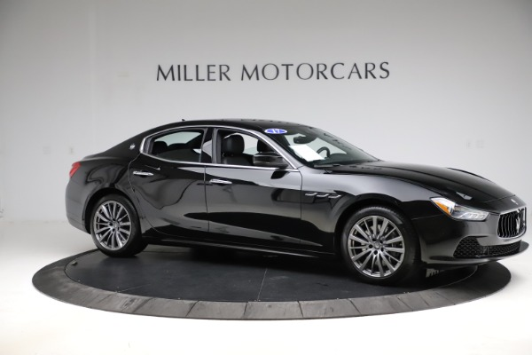 Used 2017 Maserati Ghibli S Q4 for sale $41,900 at Bentley Greenwich in Greenwich CT 06830 10
