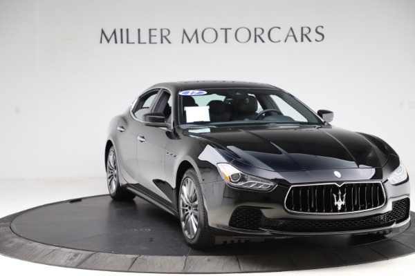 Used 2017 Maserati Ghibli S Q4 for sale $41,900 at Bentley Greenwich in Greenwich CT 06830 11