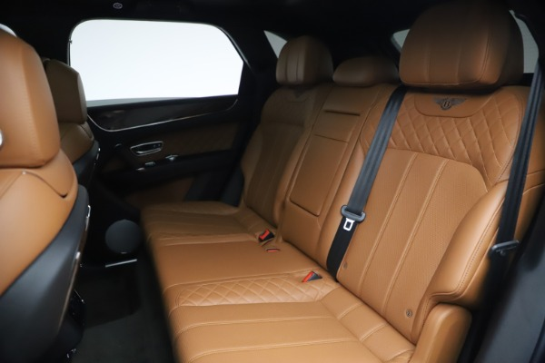 Used 2017 Bentley Bentayga W12 for sale $126,900 at Bentley Greenwich in Greenwich CT 06830 24