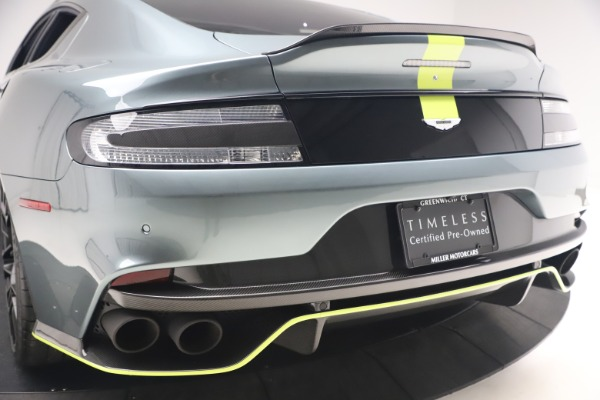 Used 2019 Aston Martin Rapide AMR Sedan for sale $187,900 at Bentley Greenwich in Greenwich CT 06830 26