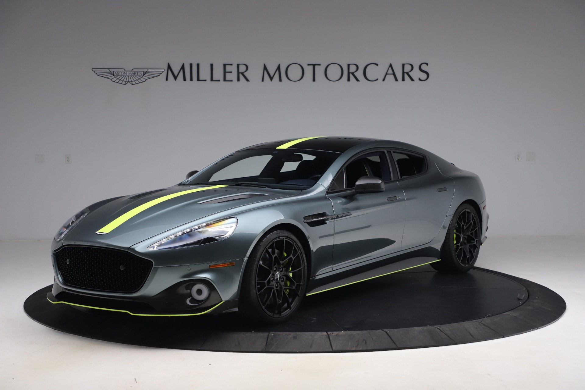 Used 2019 Aston Martin Rapide AMR Sedan for sale $187,900 at Bentley Greenwich in Greenwich CT 06830 1