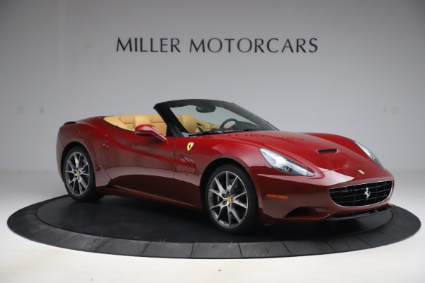 Used 2014 Ferrari California 30 for sale Sold at Bentley Greenwich in Greenwich CT 06830 10