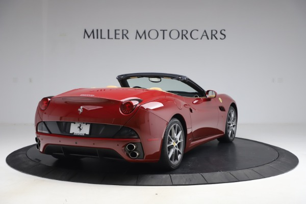 Used 2014 Ferrari California 30 for sale Sold at Bentley Greenwich in Greenwich CT 06830 7
