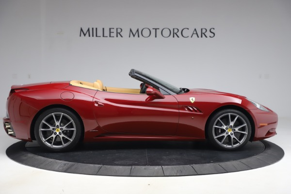 Used 2014 Ferrari California 30 for sale Sold at Bentley Greenwich in Greenwich CT 06830 9