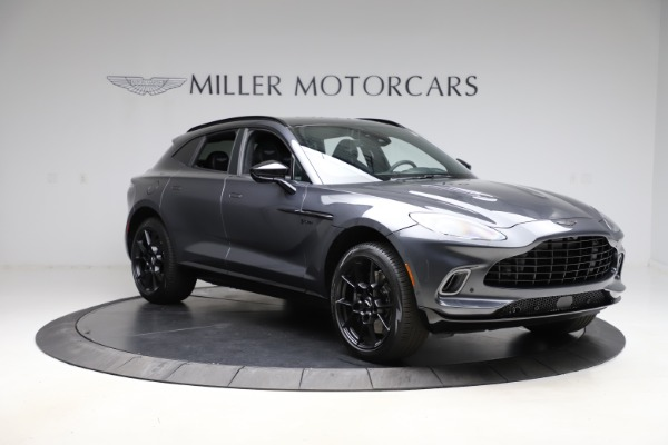New 2021 Aston Martin DBX for sale $201,586 at Bentley Greenwich in Greenwich CT 06830 10