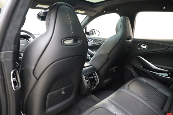 New 2021 Aston Martin DBX for sale $201,586 at Bentley Greenwich in Greenwich CT 06830 19