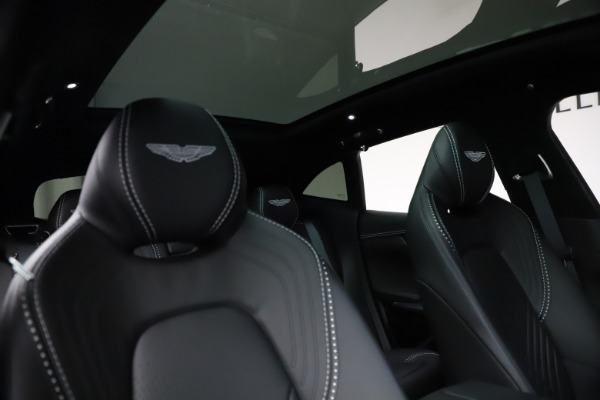 New 2021 Aston Martin DBX for sale $201,586 at Bentley Greenwich in Greenwich CT 06830 22