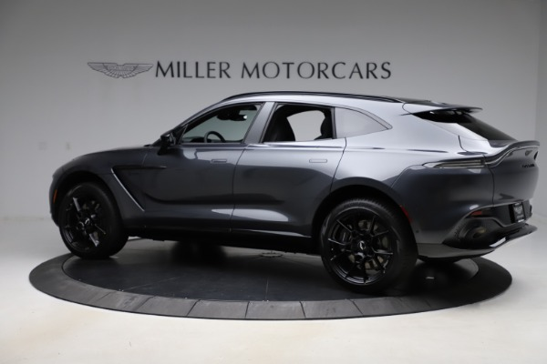 New 2021 Aston Martin DBX for sale $201,586 at Bentley Greenwich in Greenwich CT 06830 3