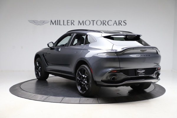 New 2021 Aston Martin DBX for sale $201,586 at Bentley Greenwich in Greenwich CT 06830 4