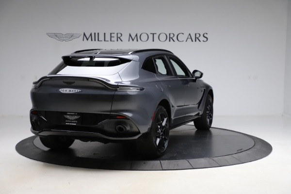 New 2021 Aston Martin DBX for sale $201,586 at Bentley Greenwich in Greenwich CT 06830 6