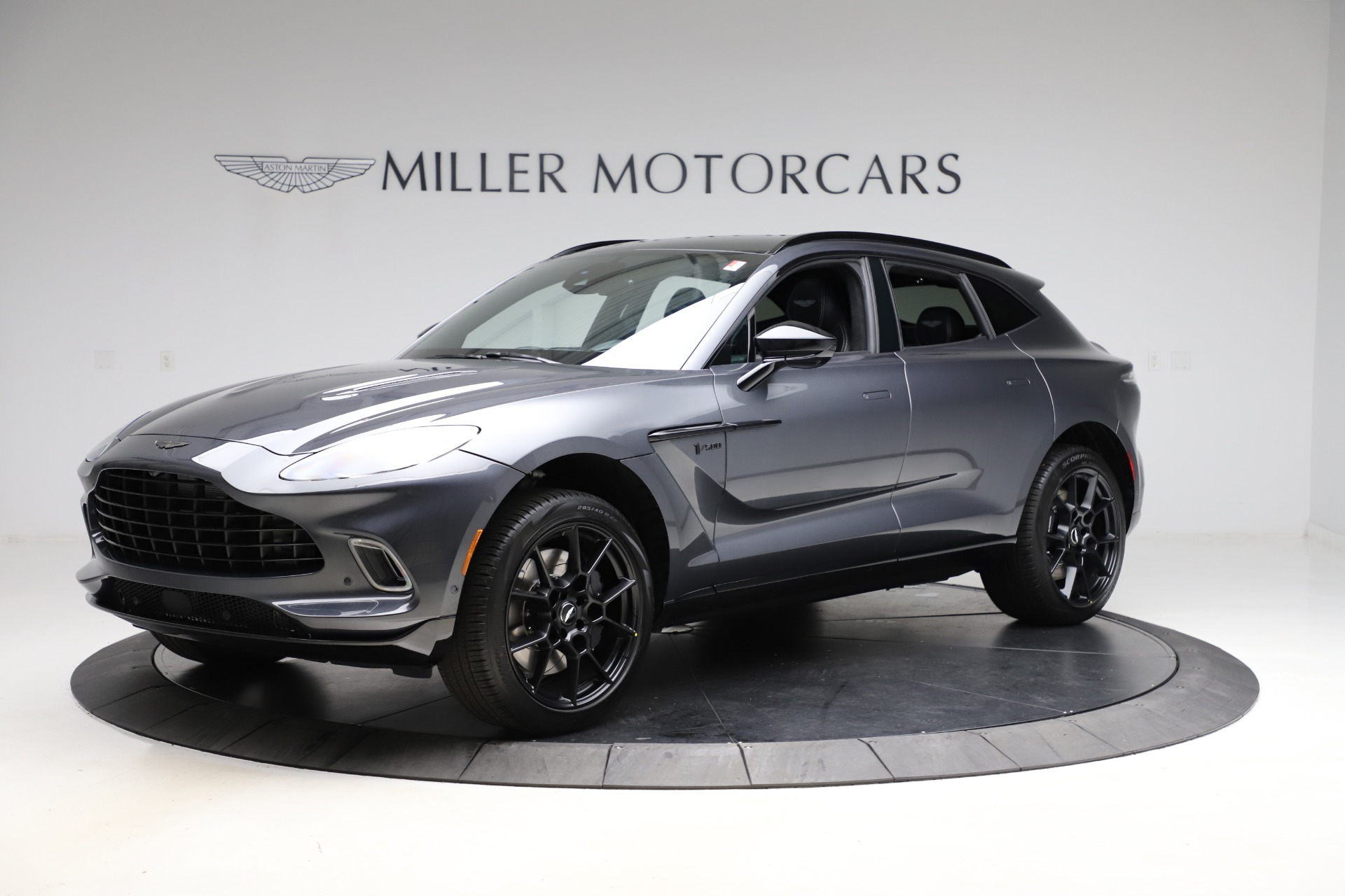 New 2021 Aston Martin DBX for sale $201,586 at Bentley Greenwich in Greenwich CT 06830 1
