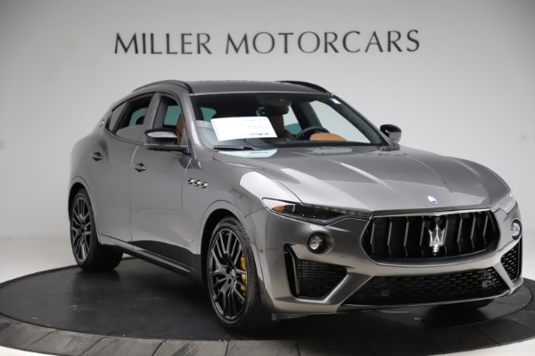 New 2021 Maserati Levante S Q4 GranSport for sale $108,235 at Bentley Greenwich in Greenwich CT 06830 11