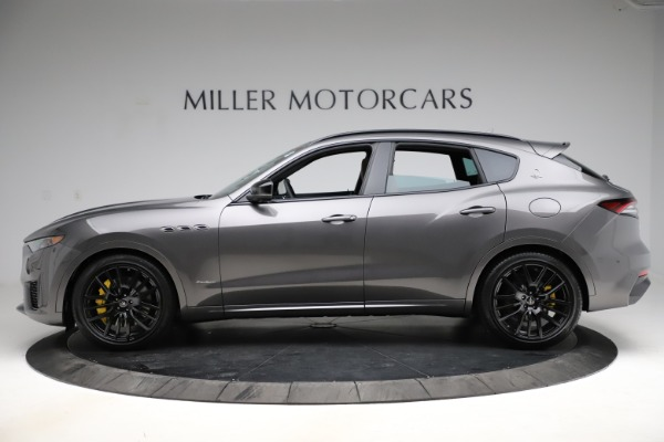 New 2021 Maserati Levante S Q4 GranSport for sale $108,235 at Bentley Greenwich in Greenwich CT 06830 3