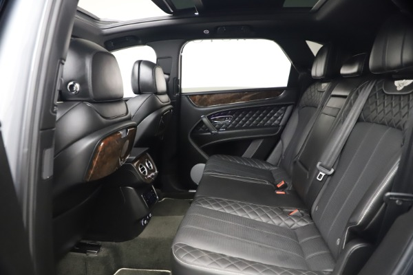 Used 2018 Bentley Bentayga W12 Signature for sale $154,900 at Bentley Greenwich in Greenwich CT 06830 23